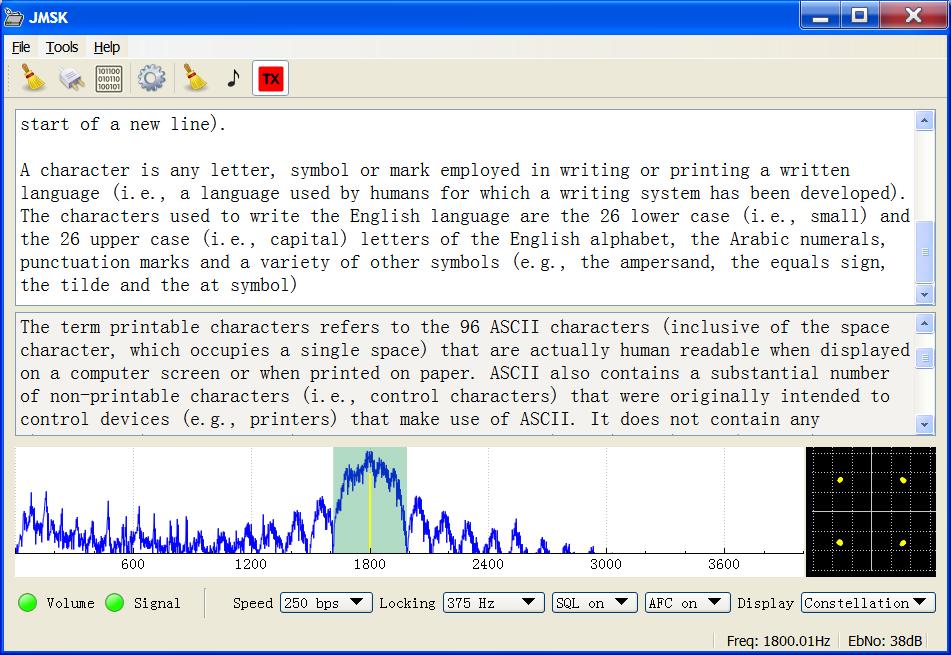 JMSK screenshot running on Windows